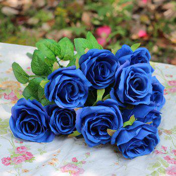 Home Decoration Flower Arrangement Artificial Roses