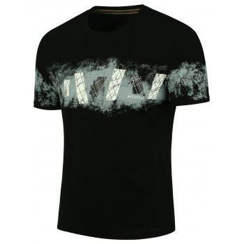 Cool Crew Neck Printed T-shirt