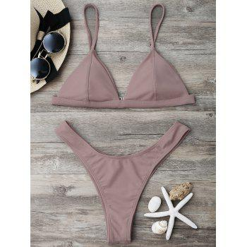 High Cut Cheeky Bikini Set