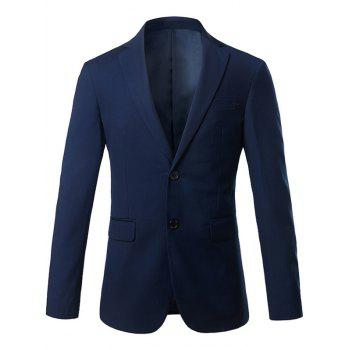 Lapel Single Breasted Slim Fit Casual Blazer