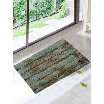 Wood Grain Print Skidproof Area Rug