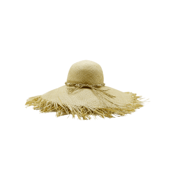 Beaded Decoration Sun Straw Floppy Hat