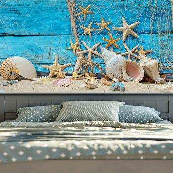 Wall Hanging Beach Starfish Wood Home Decor Tapestry - W51 INCH * L59 INCH W51 INCH * L59 INCH