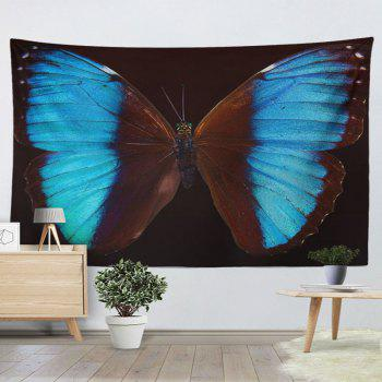 Home Decor Wall Hanging Butterfly Tapestry - BROWN W51 INCH * L59 INCH