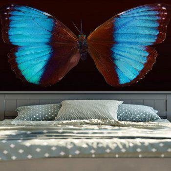 Home Decor Wall Hanging Butterfly Tapestry - W59 INCH * L59 INCH W59 INCH * L59 INCH