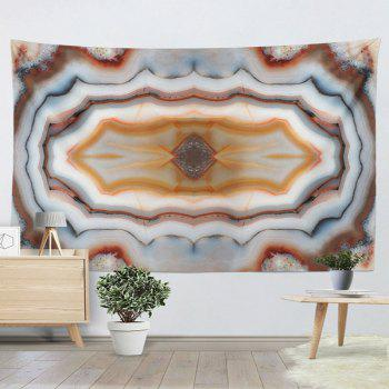 Wall Hanging Marble Print Decor Tapestry - COLORMIX W51 INCH * L59 INCH