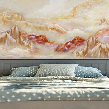 Wall Hanging Marble Landscape Printing Tapestry - W59 INCH * L79 INCH W59 INCH * L79 INCH