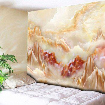 Wall Hanging Marble Landscape Printing Tapestry - MARBLE W59 INCH * L79 INCH