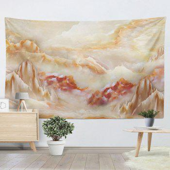 Wall Hanging Marble Landscape Printing Tapestry - MARBLE MARBLE
