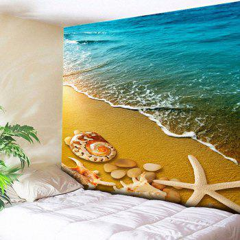 Home Decor Wall Hanging Beach Scenery Tapestry