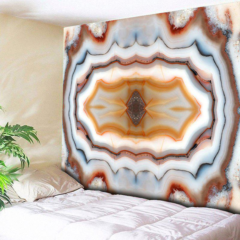 Wall Hanging Marble Print Decor Tapestry - COLORMIX W59 INCH * L59 INCH