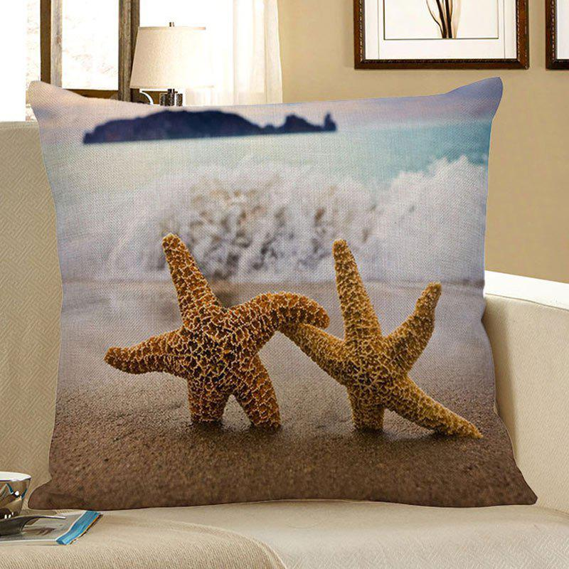 Starfish Beach Style Pillow Case - LIGHT BLUE 45*45CM