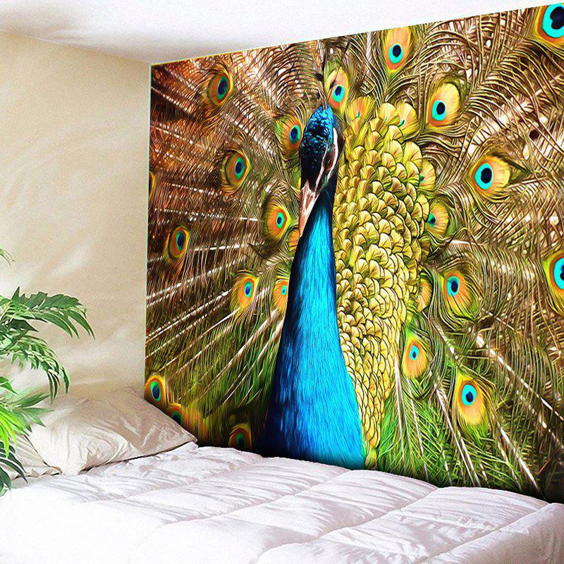 Animal Wall Hanging Peacock Printing Tapestry