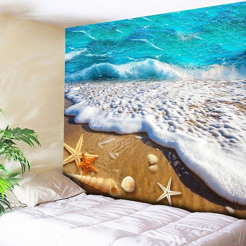 Wall Hanging Beach Scenery Home Decor Tapestry home decor wall hanging beach conch tapestry