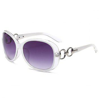 UV Protection Outdoor Sunglasses - WHITE WHITE