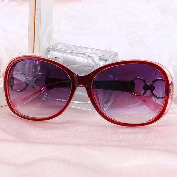 UV Protection Outdoor Sunglasses -  RED