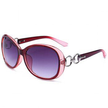 UV Protection Outdoor Sunglasses - RED RED
