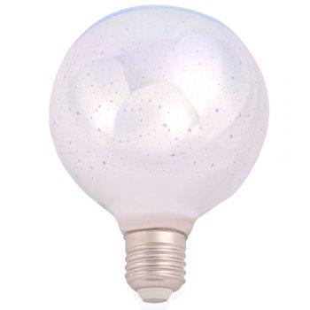 5W E27 LED 3D Glass Light Bulb Colorful Decorative Lamp - COLORFUL E27