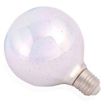 5W E27 LED 3D Glass Light Bulb Colorful Decorative Lamp - COLORFUL COLORFUL