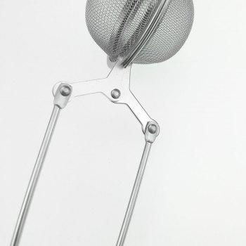 Kitchen Gadget Tea Strainer Ball Filter with Handle -  STAINLESS STEEL