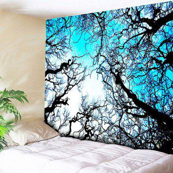 Wall Hanging Forest Tree Printing Tapestry