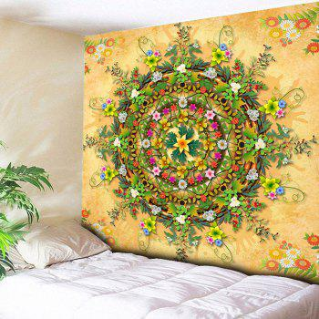 Decorative Wall Hanging Floral Print Tapestry