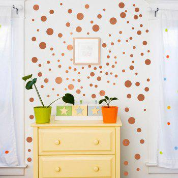 Round Shape DIY Decorative Wall Sticker