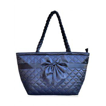 Bowknot Quilted Shoulder Bag