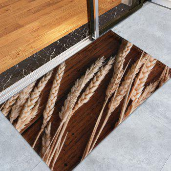 Anti-skid Wheat Kitchen Bathroom Floor Rug