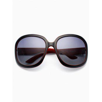 Sunproof Polarized UV Protection Sunglasses  -  BLACK RED