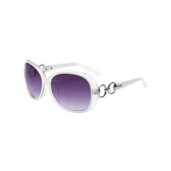 Polarized UV Protection Sunglasses  -  WHITE