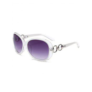 Polarized UV Protection Sunglasses  - WHITE WHITE