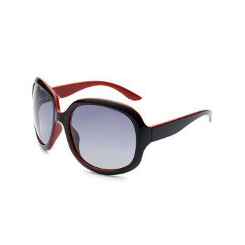 Sunproof Polarized UV Protection Sunglasses  - BLACK RED BLACK RED