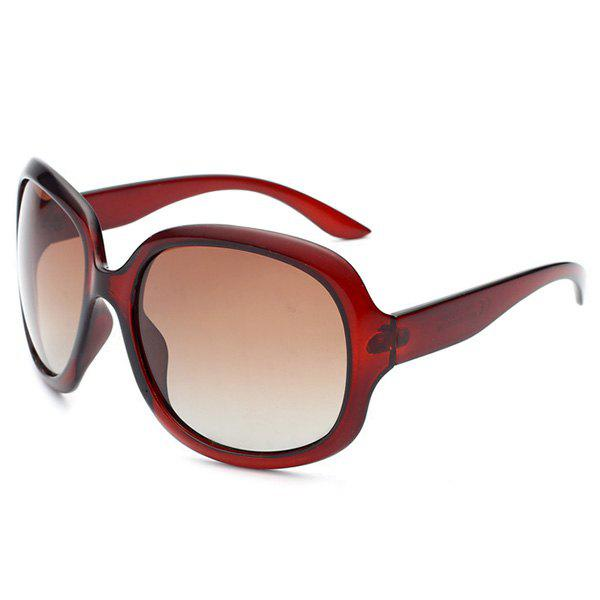Outdoor Sunproof UV Protection Sunglasses - TRANSPARENT TAWNY FRAME / TAWNY MERCURY LENS