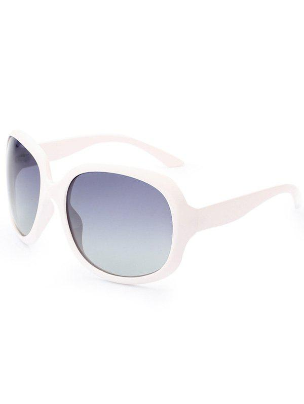 Sunproof Polarized UV Protection Sunglasses  - WHITE