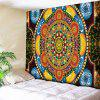 Living Room Flower Wall Hanging Mandala Tapestry - COLORMIX W51 INCH * L59 INCH