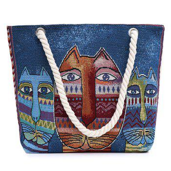 Canvas Printed Beach Bag
