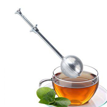 Stainless Steel Spring Tea Ball Strainer -  STAINLESS STEEL