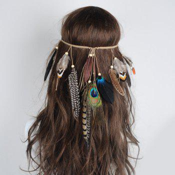 Charm Bohemian Peacock Feather Headwear