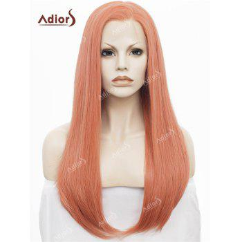 Adiors Free Part Long Silky Straight Lace Front Synthetic Wig