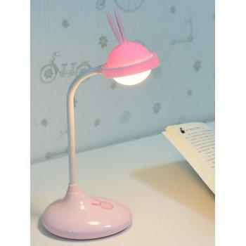 Rabbit Rechargeable LED Touch Table Lamp - PINK