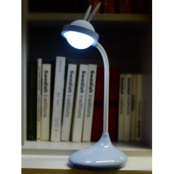 Rabbit Rechargeable LED Touch Table Lamp -  BLUE