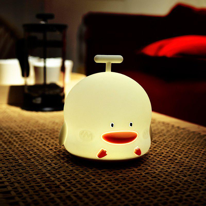 Duck Shape Rechargeable Touch Sensor Night Light with Sounding