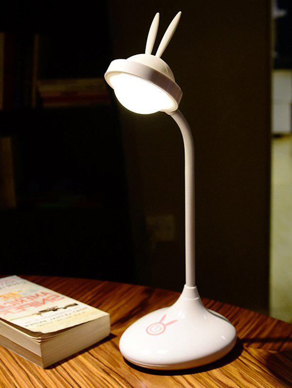 Lapin rechargeable LED Touch Table Lamp - Blanc