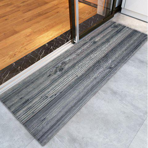 Withered Tree Grain Print Nonslip Rug - GRAY W24 INCH * L71 INCH