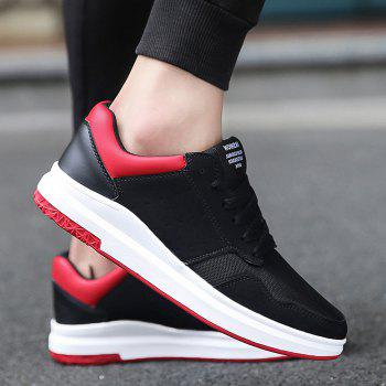 Mesh Breathable Faux Suede Casual Shoes