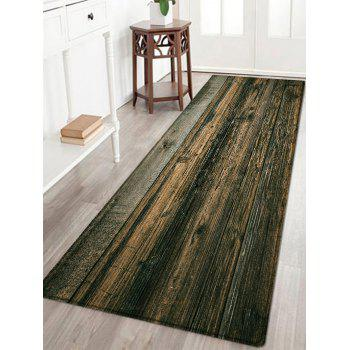 Wooden Floor Pattern Indoor Outdoor Area Rug