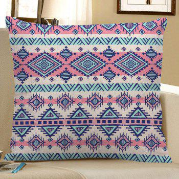 Bohemian Geometric Linen Pillow Case - COLORFUL 45*45