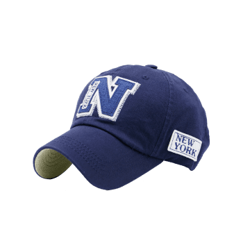Letters Embellished Outdoor Baseball Hat -  BLUE