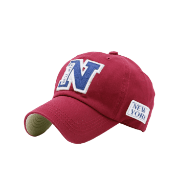 Letters Embellished Outdoor Baseball Hat - RED